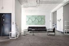 Gaia es el nombre de la tercera colección de paneles acústicos de la firma sueca Blå Station y la segunda que el estudio Stone Designs diseña para ella