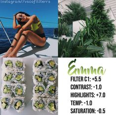 filter brings out the color green a lot, tag ? ——— filter made & posted by… Photography Filters, Photography Editing, Photography Hacks, Vsco Cam Filters, Vsco Filter, Vsco Pictures, Editing Pictures, Vsco Gratis, Picsart