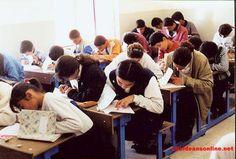 Assyrian students in Sarsing.