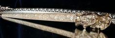 Indian Brass Dagger Sword Letter Opener by MadMaxxEstateSale