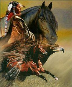 Native American Prayers, Native American Wisdom, Native American History, Native American Paintings, Native American Pictures, Native Indian, Native Art, Native Symbols, Indian Horses