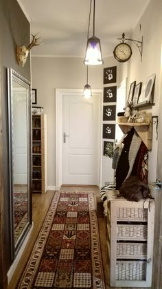 Hallway, rustic,