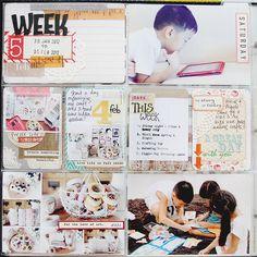 Project Life Week 5 page 1_Leena Loh