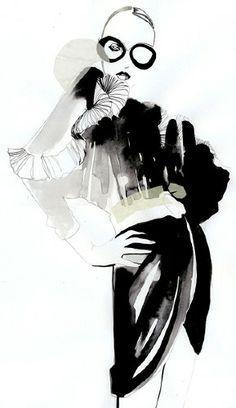 Cecillia Carlstedt | Mode Illustration