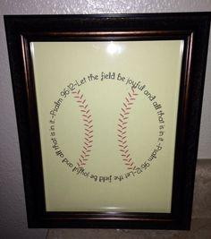 DIY Baseball Prayer