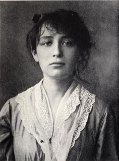 Camille Claudel (1864-1943) was a French sculptor and graphic artist. Around 1884, she started working in Rodin's workshop. Claudel became a source of inspiration, his model, his confidante and lover. Though she destroyed much of her art work, about 90 statues, sketches and drawings survive.