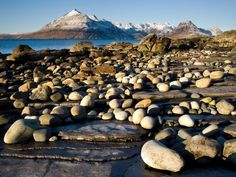The Cuillins looking stunning from Elgol, Isle of Skye, Scotland