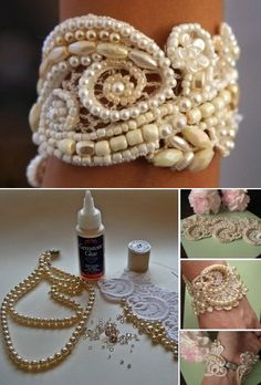 Cuffs are beautiful accessories women love to wear. There are several tutorials online on how to make them depending the occasion and where you are going to. For today's diy