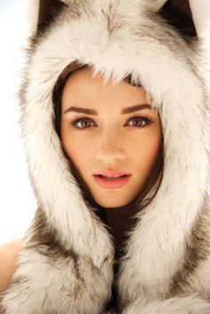 Crystal Reed. Love this photo!