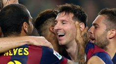 reachs Zarra´s record and celebrates with his partners. La Liga all time top scorer Fc Barcelona, Messi, All About Time, Couple Photos, Couples, Celebrities, Top, The League, Photo Galleries