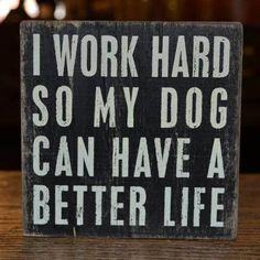 Why I Work Hard