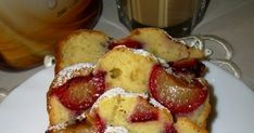 Zapraszam was na ciasto, które robiłam dokładnie 9 minut. Najdłużej zeszło mi ze studzeniem składników. W pewnej chwili zaniepokoiłam się,... Yummy Cakes, Cake Recipes, French Toast, Food And Drink, Menu, Breakfast, Kuchen, Menu Board Design, Morning Coffee