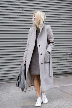 6 стильных шерстяных платьев на холодное время — Okk.club — Все самое интересное