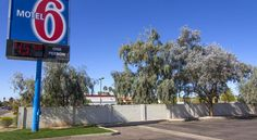 Motel 6 Mesa North Mesa Located just a short drive from several enjoyable attractions, the Motel 6 in Mesa, Arizona is a pet-friendly motel offering convenient services and comfortable guestrooms.