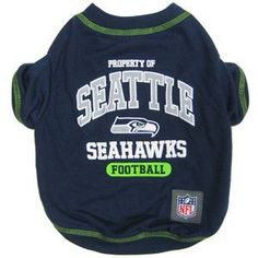 NFL Seattle Seahawks Dog Shirt