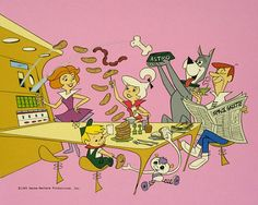 moleculuarly constructed instant food - Jetsons