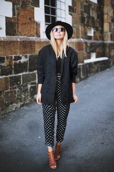 Parisienne: 19 Ways To Wear Polka Dots