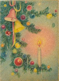 Holiday Images, Vintage Christmas Images, Retro Christmas, Vintage Holiday, Christmas Pictures, Christmas Art, Christmas Tress, Vintage Images, Vintage Greeting Cards