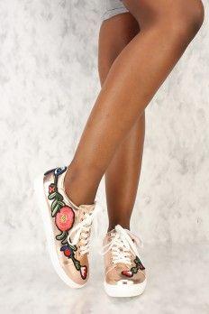 Rose Gold Shoes, Cheap Rose Gold Shoes, Sexy Rose Gold Shoes For Women Rose Gold Shoes, Shoe Sale, Sexy, Sneakers, Shopping, Women, Fashion, Tennis, Moda