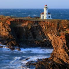 Cape Arago lighthouse, Oregon coast