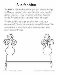 El Día de los Muertos Worksheet | day of the dead | Pinterest | Word ...