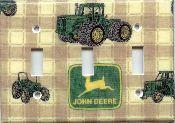 John Deere 1 Triple Switch Plate