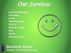Affordable Link Building Services   Link Building Company   Backlink Baron - YouTube