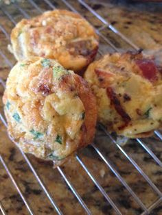 Breakfast Muffins ~ Packed with Protein! Eggs & Bacon ADHD Eating ~No Wheat, Dairy, or Soy of any kind~ #ADHD