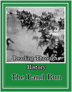This is a single five page unit from Reading Through History documenting the events surrounding the Oklahoma Land Run. There is a two page reading about the process of the land becoming available and the series of land runs, including the spectacular Oklahoma Land Rush, Travel Oklahoma, Belle Starr, Indian Territory, Old West, Landing, Trail, Cherokee, The Unit