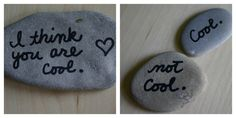 20. Message Stones | 34 Things You Can Improve With A Sharpie