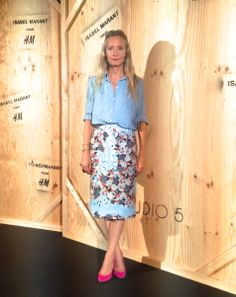 What to wear when interviewing Isabel Marant, the coolest woman in the world…. decided upon a Michael van der Ham skirt and an America...