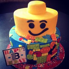 Lego Themed Happy Birthday
