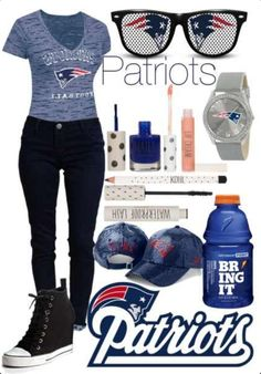 New England Patriots outfit good for some Sundays this year!!