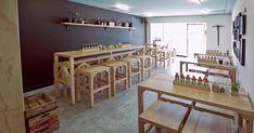 "VXLAB | blog: Canalla, a restaurant with ""spicy"" design"