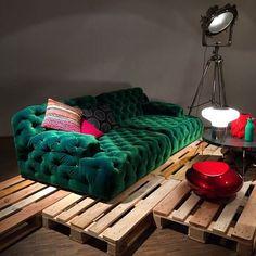 Modern Chesterfield Sofa by BRETZ. Designer furniture in Sydney, Australia - Flagship BRETZ store Modern Chesterfield Sofa, Furniture Design, Velvet Furniture, Bedroom Design, Simple House, Furniture, Living Room Designs, Trending Decor, Sofa Set