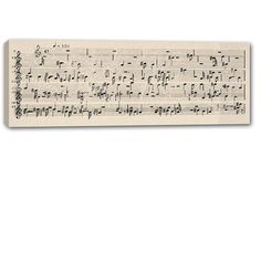 Sheet Music Wall Art sheet music designed over your photo on canvas photo anniversary