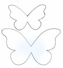 Timart: PAP Borboleta em Feltro Felt Crafts, Diy And Crafts, Crafts For Kids, Paper Crafts, Butterfly Template, Flower Template, Butterfly Pattern, Felt Flowers, Paper Flowers