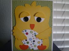 Stampin' Up!  Top Note Chick  Sharyn Jensen  Easter