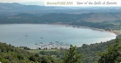 The Gulf of Baratti in Tuscany, the Caribbean in Italy