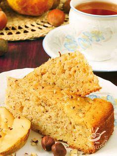 Per la Torta integrale di pere e nocciole (Vegan) potete optare anche per altri semi oleosi come noci, pistacchi, mandorle. Sarà comunque superbuona!