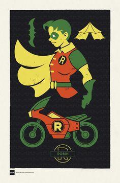 DC Superhero Profiles: Robin