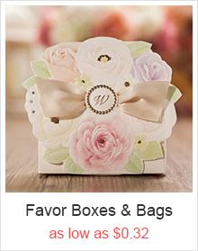 inexpensive light blue fairy tale laser cut wedding favor boxes EWFB135 as low as $0.48