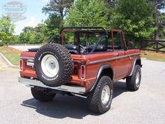 Old school Ford Bronco w/metallic fleck copper finish