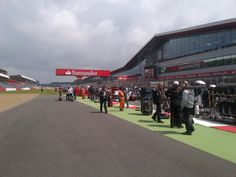 The grid! before the start of the 2012 race