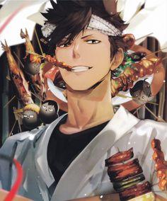 Zerochan has 10 Haikyuu! Food Illustration Book anime images, and many more in its gallery. Kuroo Haikyuu, Haikyuu Fanart, Tsukishima Kei, Kagehina, Haikyuu Anime, Hinata Shouyou, Kuroo Tetsurou Hot, Oikawa, Kenma