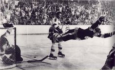 Bobby Orr. Boston Bruins. Got this picture framed in my pad!