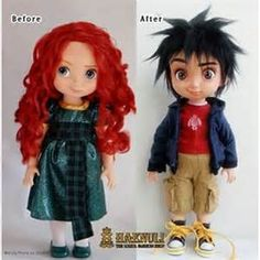 haenuli custom doll clothes - Yahoo Image Search Results, merida repaint into Hiro, Big Hero 6