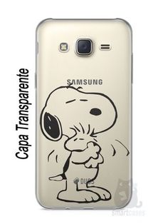 Capa Capinha Samsung J7 Snoopy #27