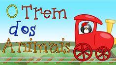 GUGUDADA - O Trem dos Animais (animação infantil)