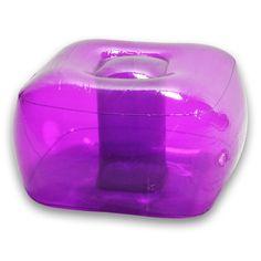 Perfect Purple Inflatable Bubble Ottoman
